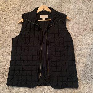 Michael Kors light square quilted vest